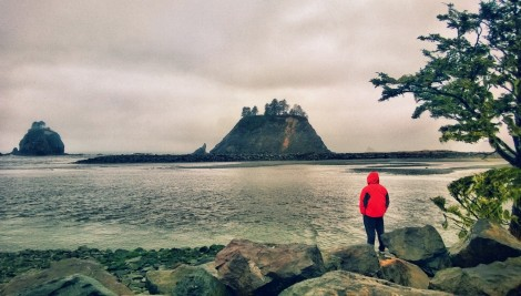 La Push. What a sight…First Beach.