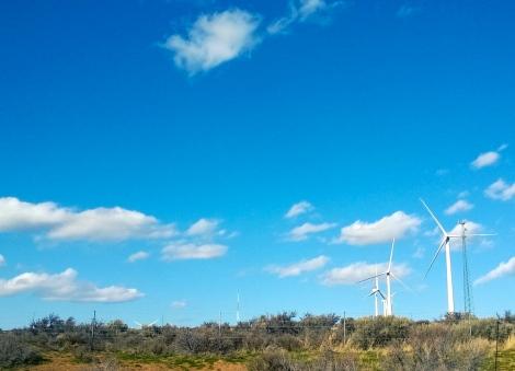 Love the wind turbines!