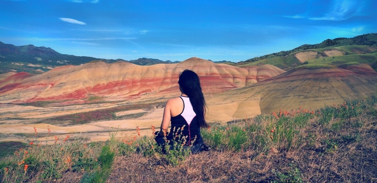 journey through time  painted hills  oregon