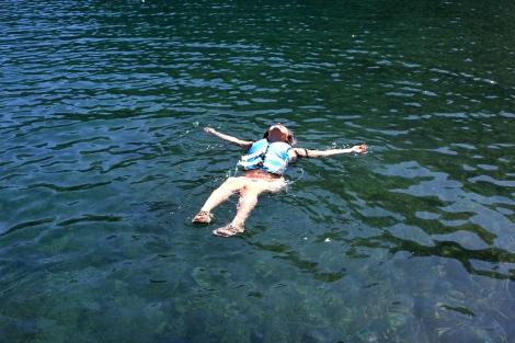 I don't swim. So I own a life vest. Haha. Best investment!