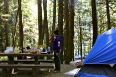 Camping shenanigans.
