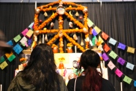 This ofrenda was so big!