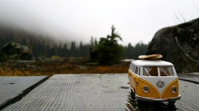 VW Bus 1962 Heather Lake WA