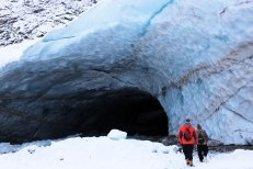Big Four Ice Caves in winter