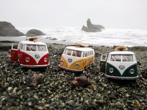 Shi Shi Beach, PNW, Washington Coast, VW Van