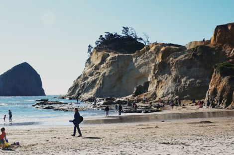 Oregon Coast, Cape Kiwanda, road trip