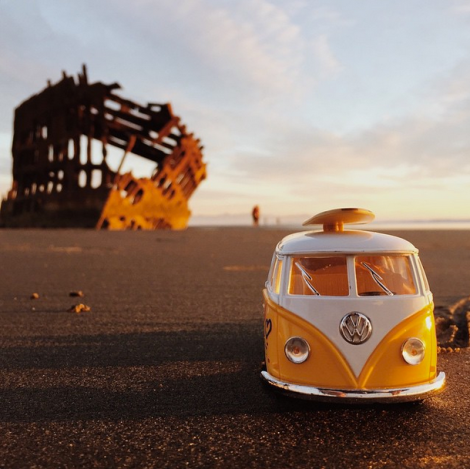 Peter Iredale, VW Bus