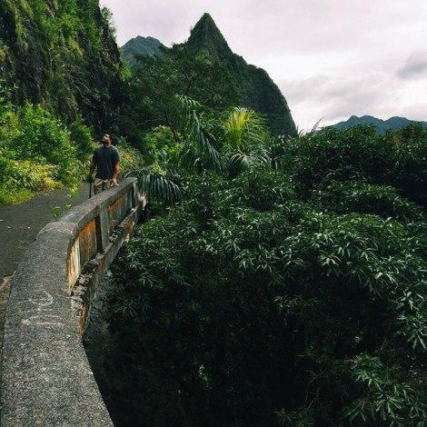 Pali Lookout, Oahu Hawaii