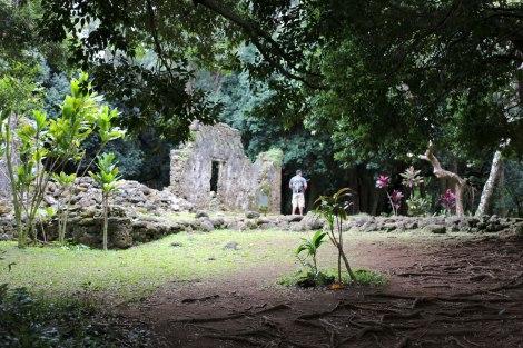 Oahu Hawaii, ruins