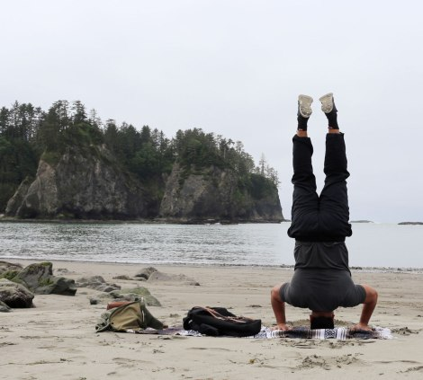 Rialto Beach, Washington coast, olympic peninsula