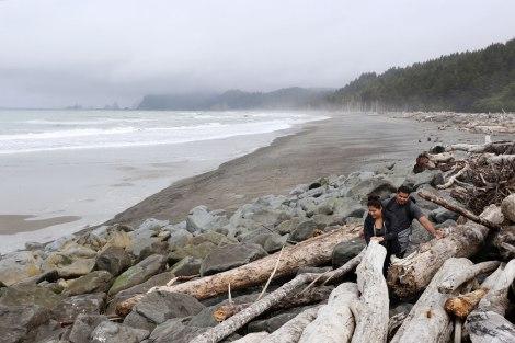 Rialto Beach, Washington coast, olympic peninsula