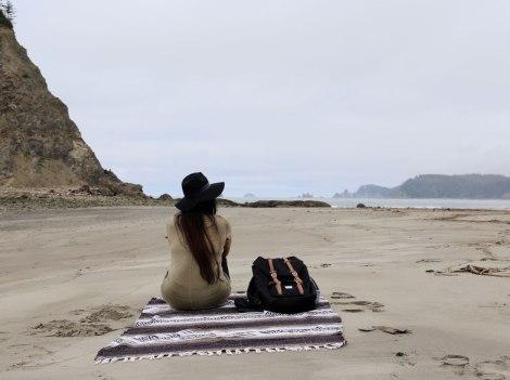Rialto Beach, Washington coast