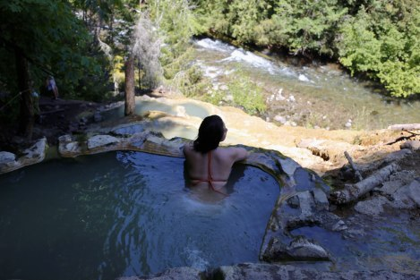 Umpqua Hot Springs, Oregon, road trip