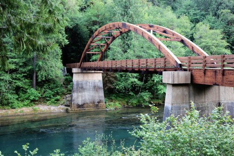 Tioga Bridge, Oregon