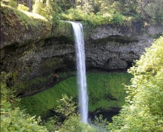 Silver Falls, South Falls, Oregon