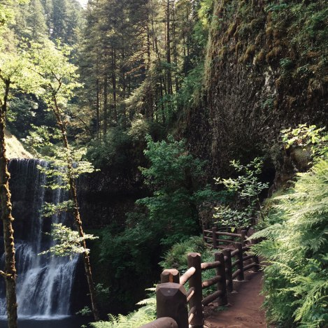 Silver Falls, Lower South Falls, Oregon