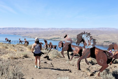 Vantage, WA, Wild Horse Monument