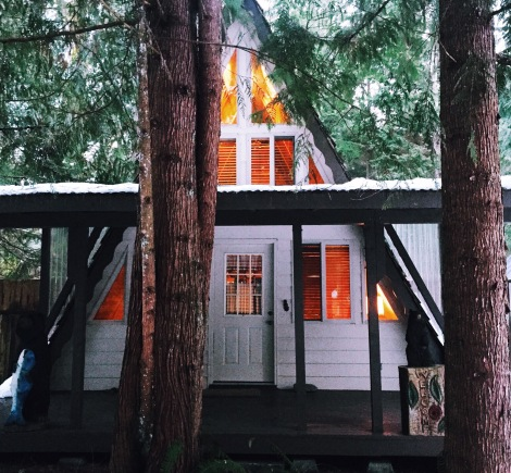 Baring Cabin, Stevens Pass, WA