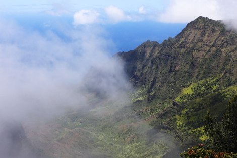 Pu'u O Kila Lookout, Kokee State Park, Kauai, Hawaii