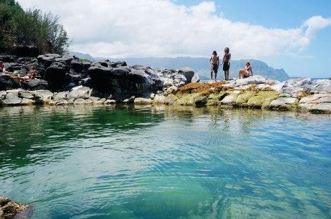 Queens Bath, Kauai Hawaii