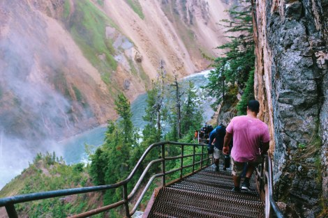 Yellowstone, Uncle Tom's Trail