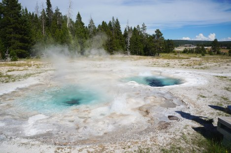 Upper Geyser Basin,Yellowstone
