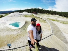 Upper Geyser Basin, Heart Spring,Yellowstone
