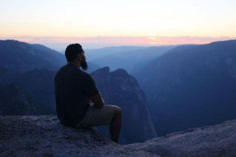 Taft Point, Glacier Point, Yosemite, CA