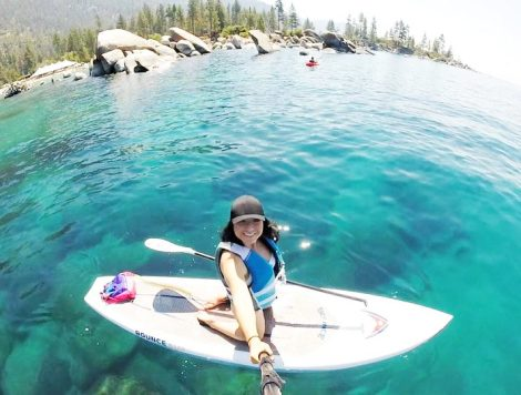 Lake Tahoe, California, OfWildestCAroadtrip, SUP