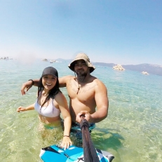 SUP, Lake Tahoe, California, OfWildestCAroadtrip
