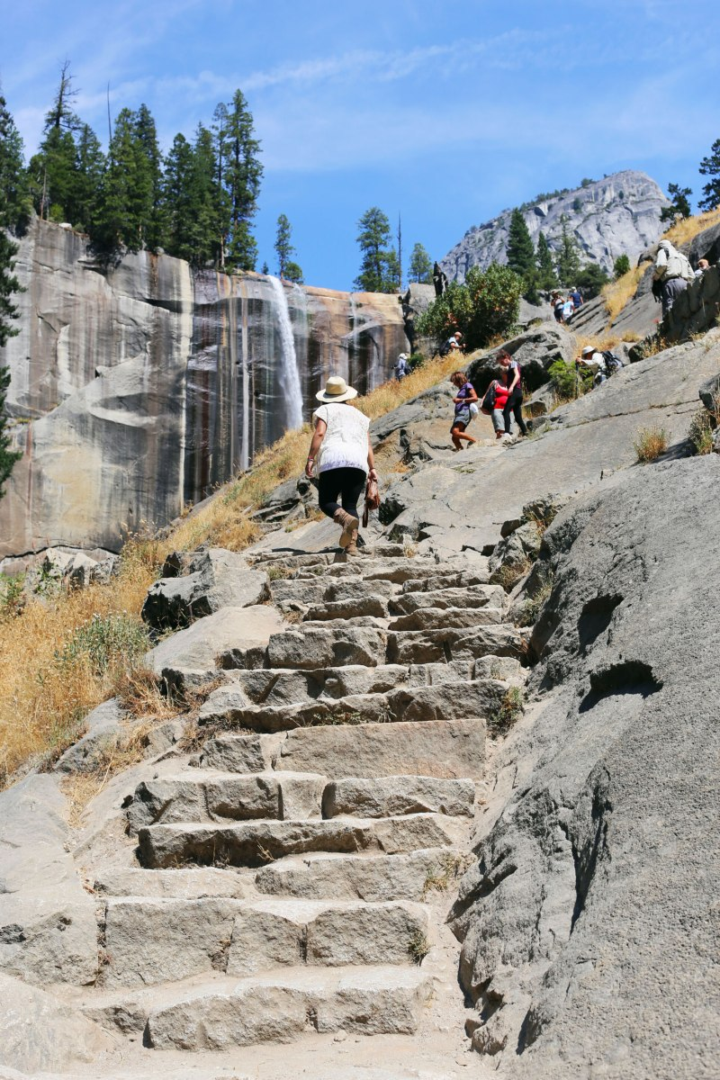 Yosemite National Park, Mist Trail, CA