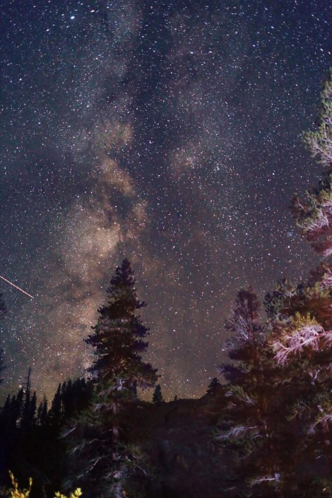 Yosemite National Park, CA, Milky Way