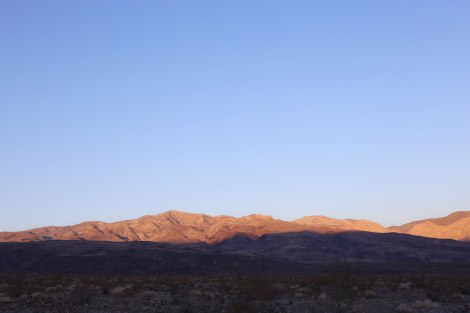 Death Valley, sunrise