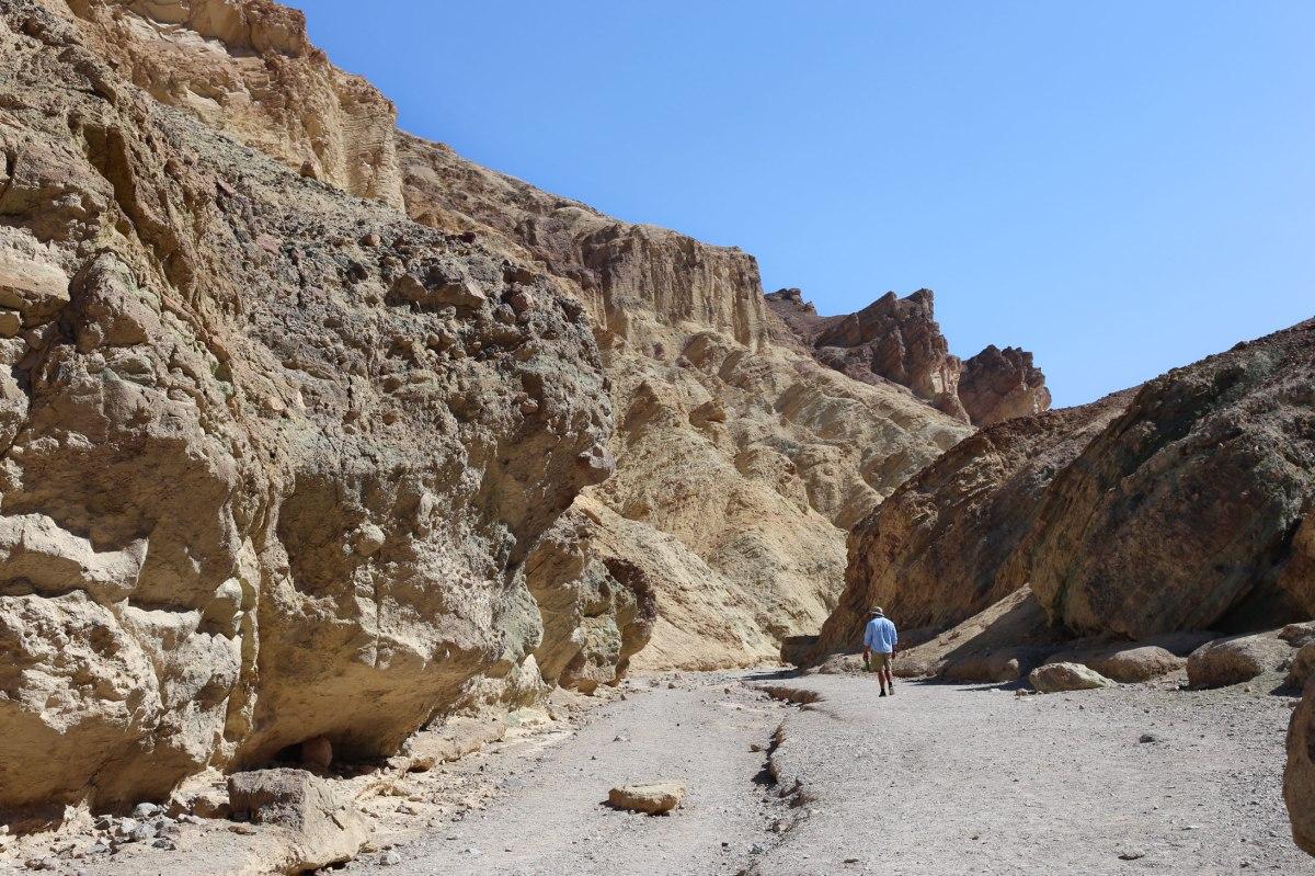 Death Valley, Golden Canyon