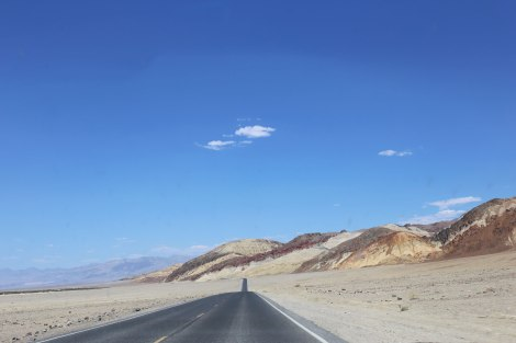 Death Valley, Painters Palette, Painters Drive