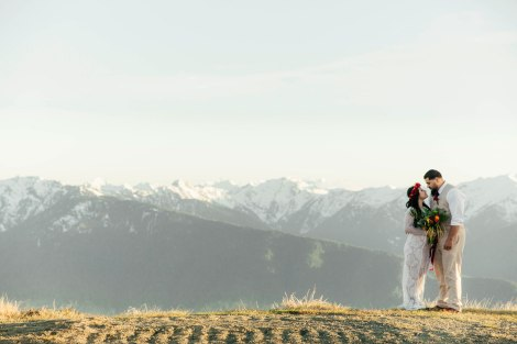 #OfWildestLove, Hurricane Ridge, wedding