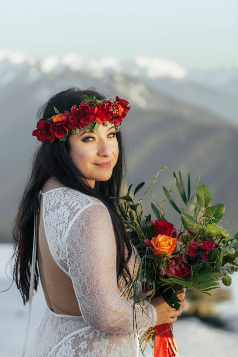 #OfWildestLove, Hurricane Ridge elopement