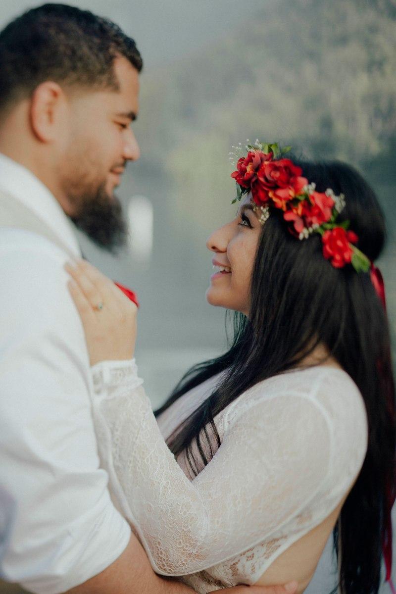 #OfWildestLove, Lake Crescent elopement