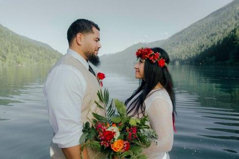 #OfWildestLove, Lake Crescent elopment