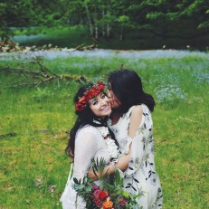OfWildestLove, campground elopement, olympic national park, lake crescent