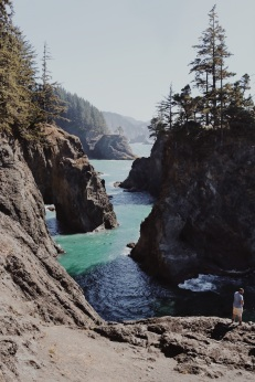 Samuel H. Boardman State Scenic Corridor, Oregon coast, Secret Beach, summer road trip