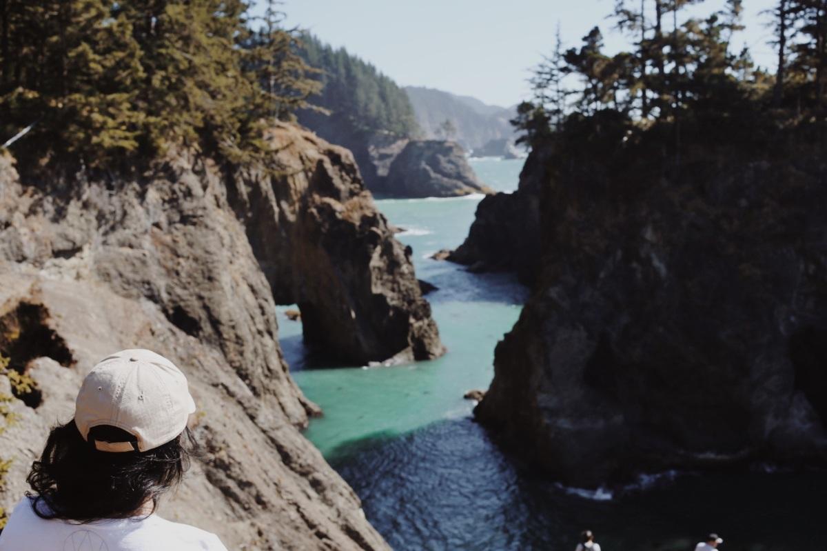 Samuel H. Boardman State Scenic Corridor, Oregon coast, Secret Beach, summer road trip